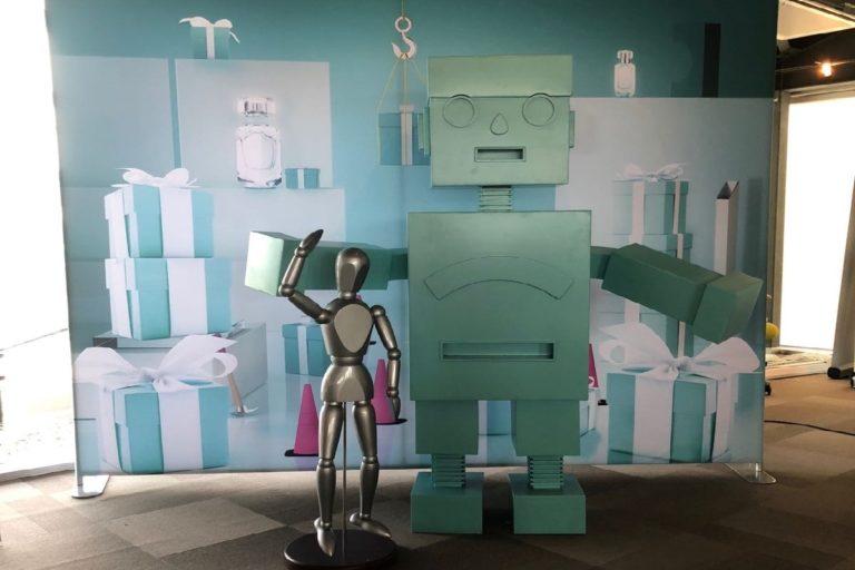 Robot Tiffany